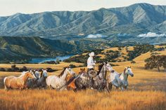 Running With The Mares » Tim Cox Fine Art