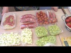 Заморозка на зиму: видео о заготовке различных овощей » Цветик-семицветик