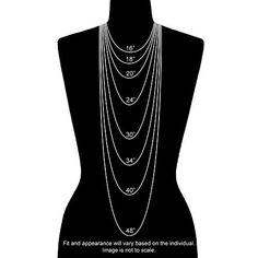 Simply Vera Vera Wang Beaded Multistrand Necklace