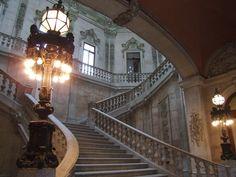 Marble Stairs, Palácio da Bolsa, Portugal.