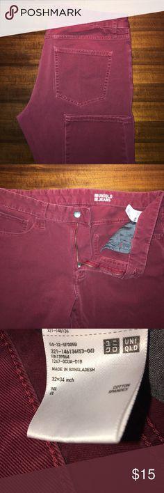Uniqlo jeans / chinos 32x34 Uniqlo jeans / chinos 32x34 Uniqlo Pants Chinos & Khakis