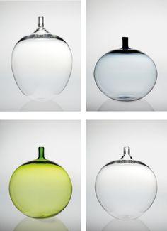 """PHILLIPS : NY050413, INGEBORG LUNDIN, Four """"Apple"""" vases"""