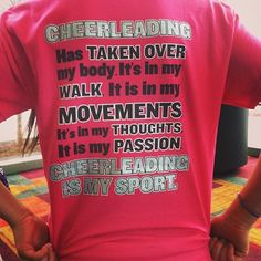 perfect cheer shirt.