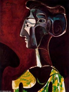 Pablo Picasso by cathleen
