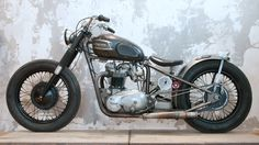 Triumph Bobber by Wrenchmonkees