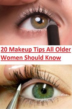 20 Make-up-Tipps, die alle älteren Frauen wissen sollten (Slideshow) Beauty Secrets, Beauty Hacks, Makeup Tips For Older Women, Looks Party, Make Up Tricks, Makeup Tips For Beginners, Skin Makeup, Eyeliner Makeup, Makeup Stuff