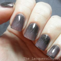 The Lacquerologist: Pretty & Polished The Winter Collection: Icy What You Did There, Haute-y and Nice & Animagi Swatches and Review (and Nai...