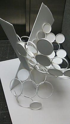 めずらしく立体ほめられた!゜∀゜ /美しい器 スチレンボード紙コップ