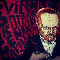 Professor Moriarty by Dalt´s, via Flickr #sherlock #ilustration