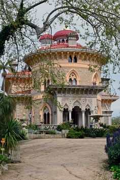Monserrate Palace in Sintra Portugal