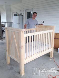 17 Ideas Baby Diy Crib Children For 2019 Baby Crib Diy, Baby Nursery Diy, Baby Bedroom, Baby Cribs, Nursery Ideas, Wooden Baby Crib, Wood Crib, Baby Boy, Baby Bassinet