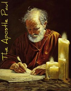 Paolo apostolo e le sue lettere di vita - The Apostle Paul. I am confident of this very thing, that He who began a good work in you will perfect it until the day of Christ Jesus. 5 Solas, Paul The Apostle, Bible Pictures, Catholic Saints, Jesus Cristo, Christian Art, Early Christian, Bible Stories, Bible Art