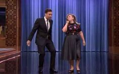 Kelly Clarkson and Jimmy Fallon sing the history of duets on The Tonight Show.