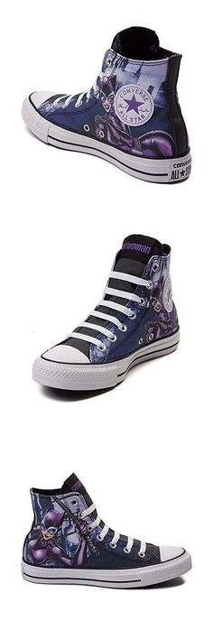 c3f7d465ca8b Converse Unisex Chuck Taylor All Star Hi Catwoman Sneaker Eggplant Purple  (7 B(M) US)