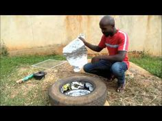 Solar Tyre Oven for under $5 - How to make a cheap solar cooker - Tire Oven - YouTube