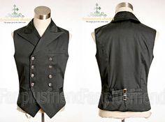 Nikola's waistcoat of finery