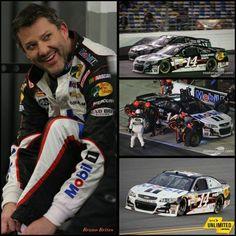 Tony at Daytona Feb. 2014. That smile!