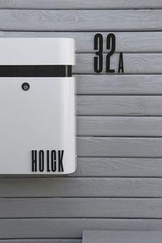 Design Letter en cijfers zwart - Arne Jacobsen - DESIGN cijfers zwart | op mailbox Mefa Judo 640 theletterfaktory