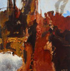 Luke Sciberras, Tailings and Oxides - Cobar, oil on board, 120 x Australian Artists, Contemporary Art, Art Gallery, Sculpture, Rock, Abstract, Artwork, Art Ideas, Prints