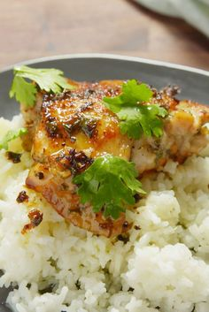 Cilantro-Lime Chicken - omitted cilantro, substituted tsp chili powder for crushed red pepper, used boneless/skinless chicken breasts Lime Chicken Recipes, Cilantro Lime Chicken, Chicken Meals, Chicken Saute, Chicken Squash, Boneless Chicken, Shrimp Recipes, Turkey Recipes, Mexican Food Recipes