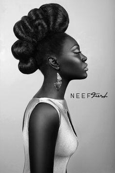 Phenomenal wedding hairstyle #african american #hairstyles #NYFW