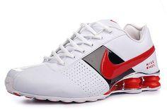 official photos b36a4 faa48 ... aliexpress nike shox deliver mens shoe white sport red black sale 80.64  de7f7 9f8b0
