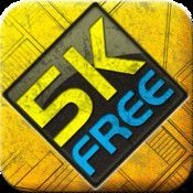 "5K Runner: couch to 5K workout, free |  Winner: ""The best iPhone fitness and nutrition apps of 2011″, Appolicious.  This is the Official & highly praised 5K Runner app. The app that keeps you running! You only need this app to guide & mo"