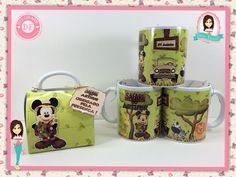 Caneca Personalizada - Safari do Mickey