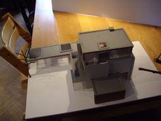 ontwerp maquette woonhuis Tilburg