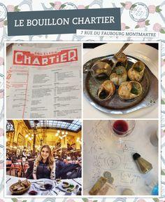 Lugares para comer em Paris - Bouillon Chartier