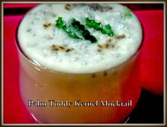 Palm Toddy Kernel and Green Coconut Summer Cooler        By Barnali Dutta Published: 2014-04-04 I got the opportunity to share a very special coolified summer drink with everyone. We have great addictions for toddy palm. Let's start from the beginning. The palm seedlings or tal phopra, during autumnal Lakshmi puja is a must item to offer. Tal shash or jelly like sweet sap kernel of the Palmyra tree, sweet, clear, colorless toddy-juice and jaggery, and from the juicy mature palm, the yellow thick Lemon Leaves, Bengali Food, Palm Sugar, Recipe Instructions, Seasonal Food, Summer Drinks, Coconut Water, Serving Size, Kitchens