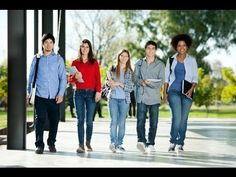 Picture of Full length portrait of confident students walking in a row on college campus stock photo, images and stock photography. Commercial Laundry Service, Daily Video, Doing Laundry, Social Activities, Part Time Jobs, College Campus, Professional Services, College Students, Comedians