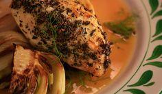 Italian Roast Chicken with Fennel