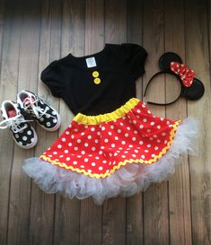 59c11eaf1 minnie mouse skirt and top set, girl minnie mouse, disney outfit, girl  disney tulle skirt,baby minnie mouse, baby disney dress, halloween