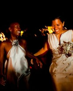 """See the """"The Happy Couple"""" in our Real Wedding: Tia-Nicole and Garnette, Sonoma, California gallery"""