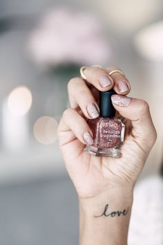 Deborah Lippmann Nail Polish #Nails #Beauty #bbloggers
