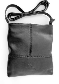 Freestyle Briony Kudu Black handcrafted Genuine leather Sling Bag R 849. Handcrafted in Cape Town, South Africa. All our leather goods are proudly South African Cape Town, Leather Men, Leather Handbags, South Africa, Men's Shoes, African, Unisex, Boots, Black