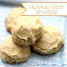 orange drop cookie recipe