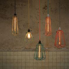 Filament Style | Diamanten als Lamp