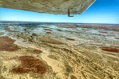 Water flowing into South Australia's usually dry inland sea, Kati-Thanda Lake Eyre, is breathing new life into the harsh outback landscape. Water Flood, Dry Desert, Environmental Education, South Australia, More Pictures, Tourism, Wildlife, Landscape, Beach