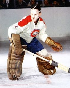Jacques Plante Hockey Memes, Women's Hockey, Hockey Cards, Hockey Players, Montreal Canadiens, Mtl Canadiens, Nhl, Goalie Mask, Canadian History