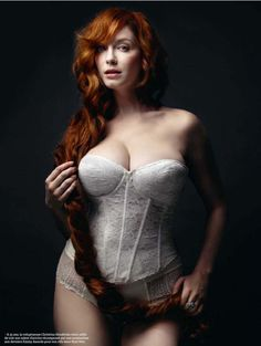 Christina Hendricks by Marco Grob, 2010.... Imma go eat another Cupcake to HOPE to look this amazing