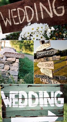 rustic-wedding-sign-ideas.001 - Wedding Ideas, Wedding Trends, and Wedding Galleries