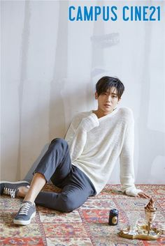 Hyungsik gets cozy in PJs for 'Campus Cine21' http://www.allkpop.com/article/2016/08/hyungsik-gets-cozy-in-pjs-for-campus-cine21