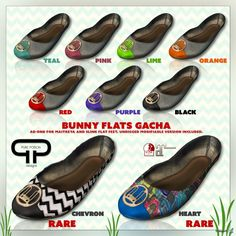 Bunny Flats Gatcha Group Gift by Pure Poison - Teleport Hub
