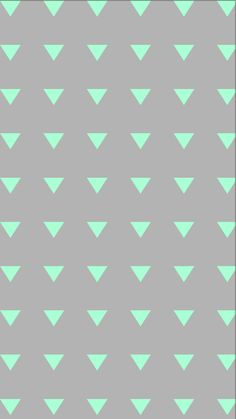 Galaxy mint triangles iphone background. Wallpaper. Phone background. Lock screen.