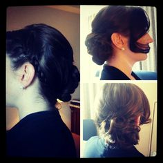#updo #frenchbraid by @Kristin Foreman