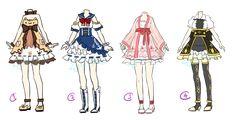 Adoptable: Outfits III [CLOSED] by ZylenXia.deviantart.com on @DeviantArt
