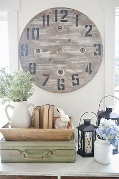 DIY Wood Pallet Clock - An Imperfect DIY Project -