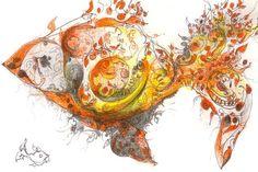 multi media drawing <3